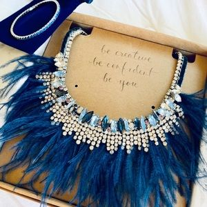 💙 Chloe + Isabel Celeste Statement Necklace New